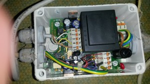 Schnittstellenwandler RS232 RS485 für Delaval Fütterungscomputer