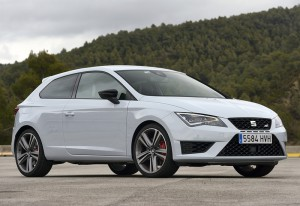 2014 Seat Leon SC Cupra 280 (5F); top car design rating and specifications